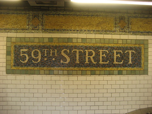 Nyc Lexington Avenue 59th Street Subway Station Flickr