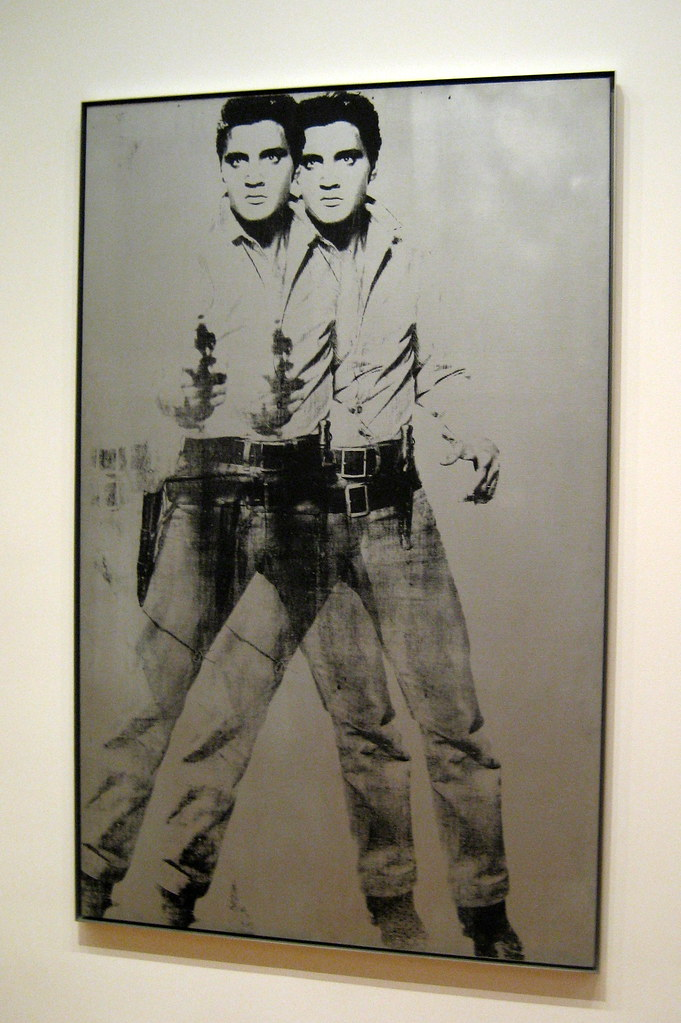 Nyc Moma Andy Warhol S Double Elvis Double Elvis