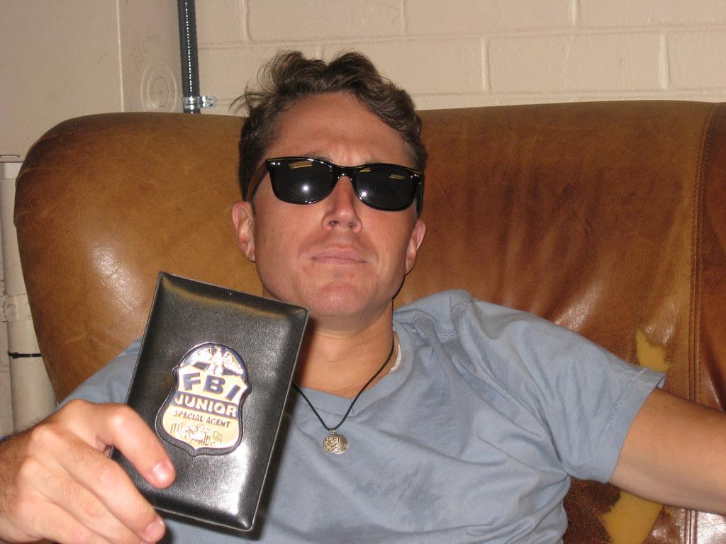 FBI Junior Special Agent Andy Hobbs | The joke here is ... Real Fbi Agent