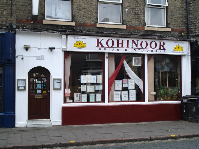 Kohinoor Indian Restaurant Padbury Menu