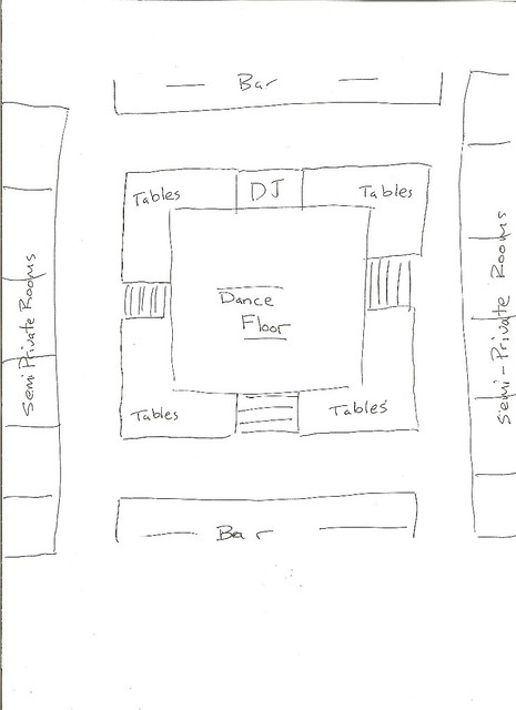 nightclub level design | Crossed Brief | Pinterest | Nightclub ...