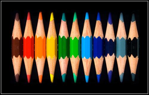 Crayons de couleur flickr photo sharing - Tuto trousse crayons de couleur ...