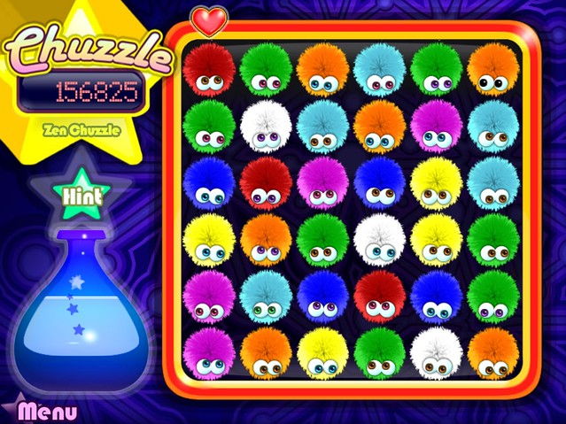 play free chuzzle on yahoo games