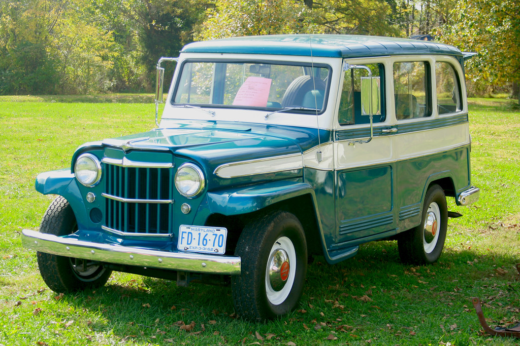 White Jeep Wagoneer >> 1962 Willys Wagon | Nice restoration. | JohnStreeter | Flickr