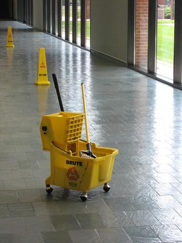 How To Mop Your Kitchen Floor