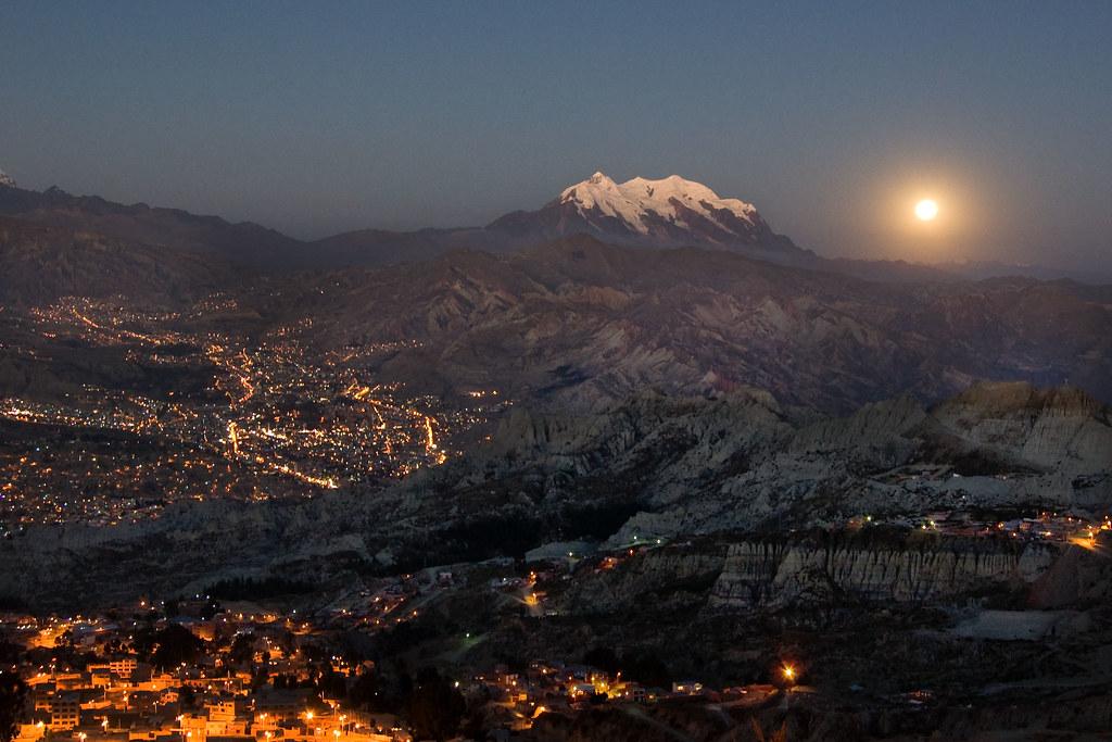 What Is Ce >> La Paz, Bolivia | El paisaje lunar de La Paz, el cerro Illim… | Flickr