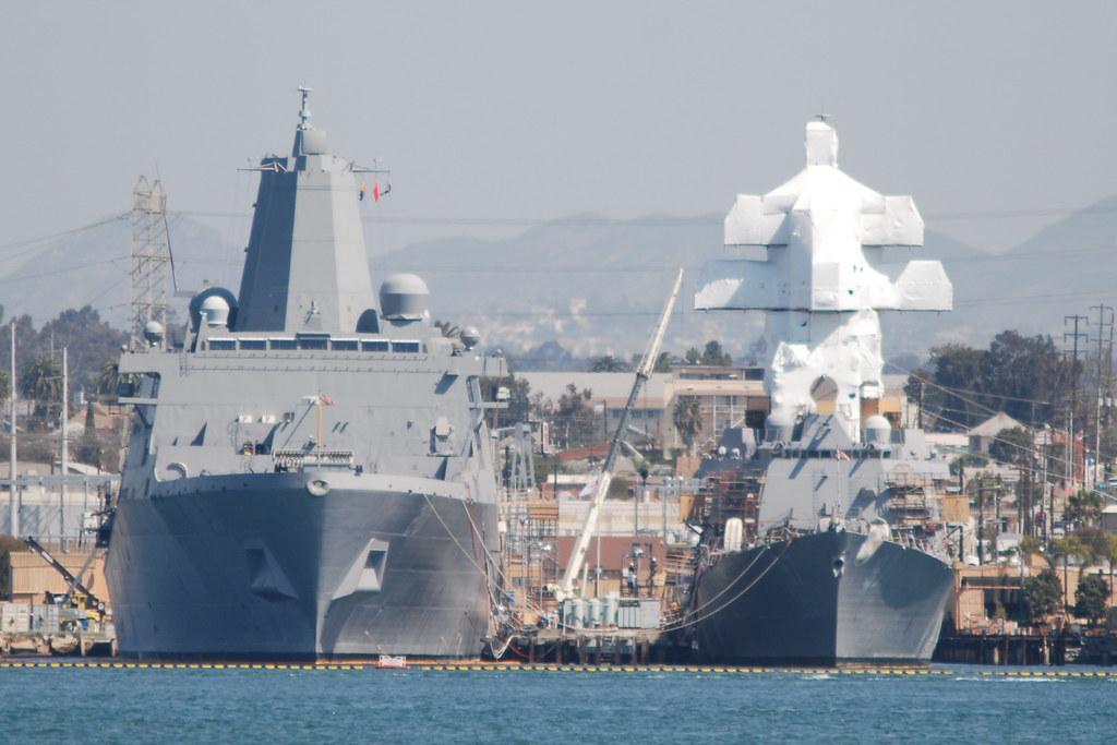 Halsey >> USS GREEN BAY LPD 20 & USS HALSEY DDG 97 | Navymailman ...