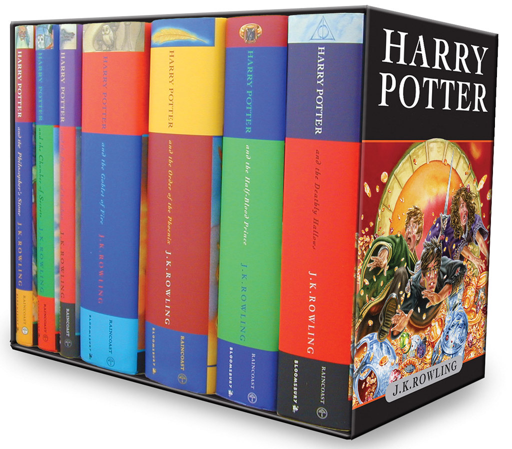 Harry Potter Book Hardcover Set ~ Harry potter box set books children s hardcover edit