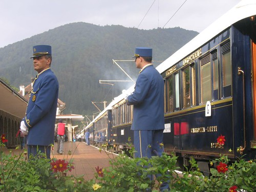 The Orient Express in Sinaia | by energeticspell