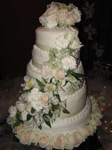Red Velvet Wedding Cake With Cream Cheese Frosting