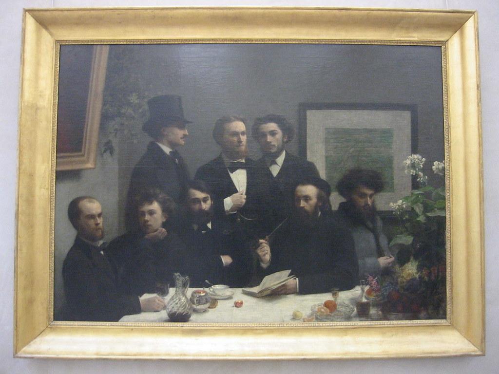 Un coin de table 1872 henri fantin latour fantin - Un coin de table fantin latour ...