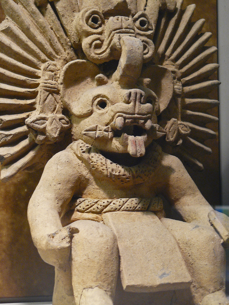 Bat god zapotec period iiia photographed at the american