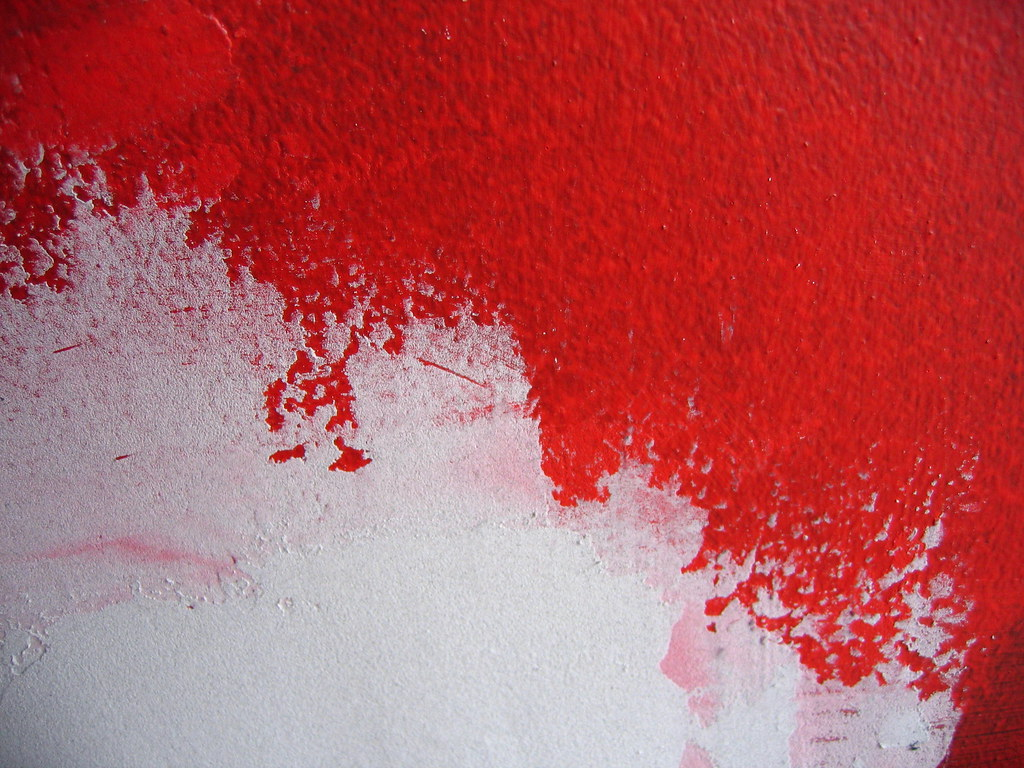 Red And White Paint Keely O 39 Shannessy Flickr