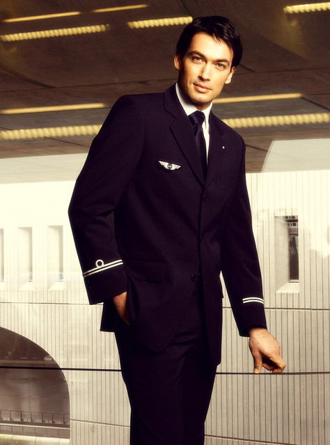 air france uniform markus w flickr. Black Bedroom Furniture Sets. Home Design Ideas