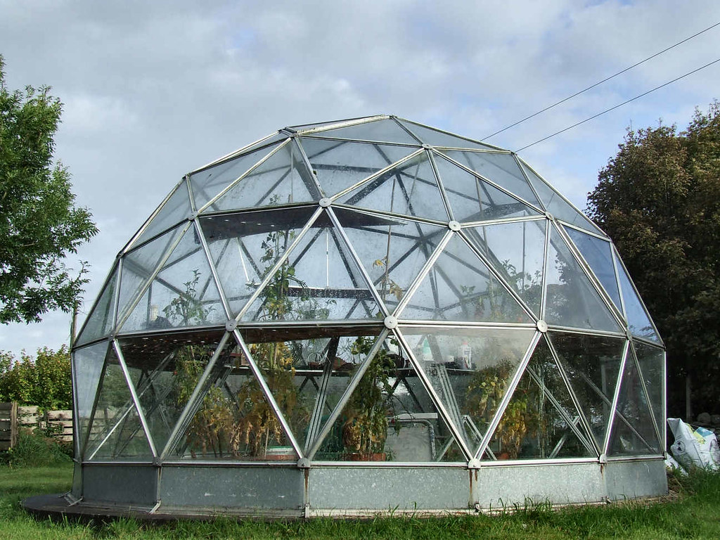Geodesic Dome Greenhouse At The Swallow Theatre Flickr