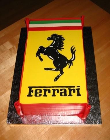 Ferrari Cake Pan