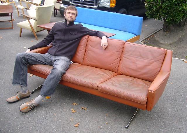 ... Late U002760s Danish Sofa | By Stewf