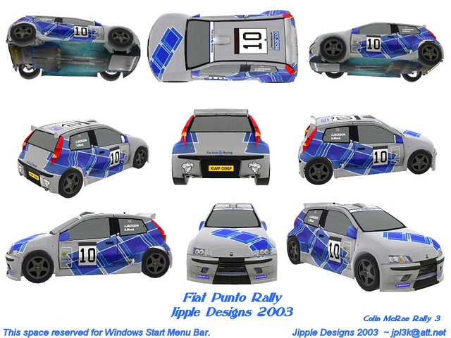 Fiat Punto Rally I Compiled A Bunch Of Game Screen Shots O Flickr