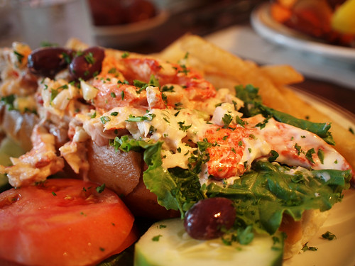 Lobster Roll at the Union Oyster House, Boston, MA | by avhell