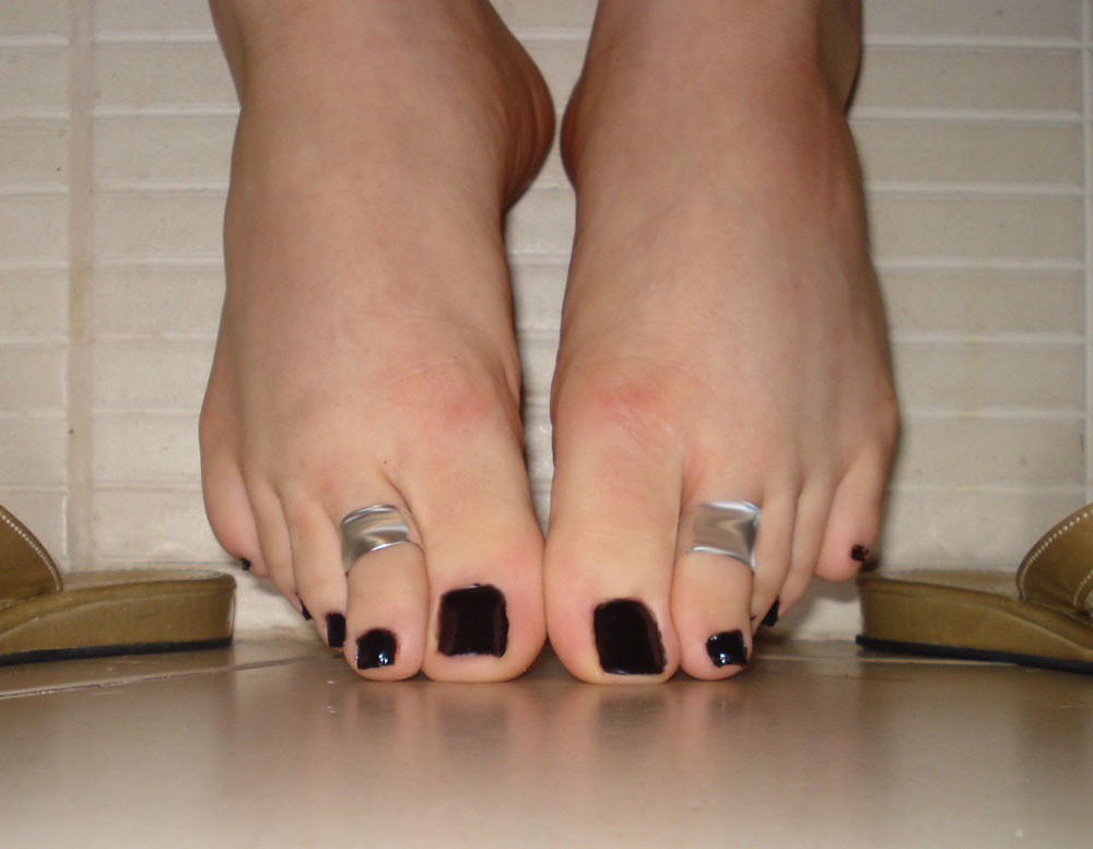 beautiful feet photo черное № 27796