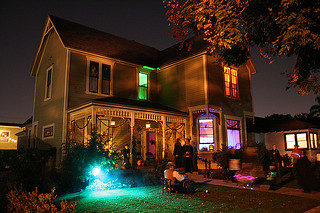 Rea House, Anaheim, Halloween 2010 | by Trader Chris