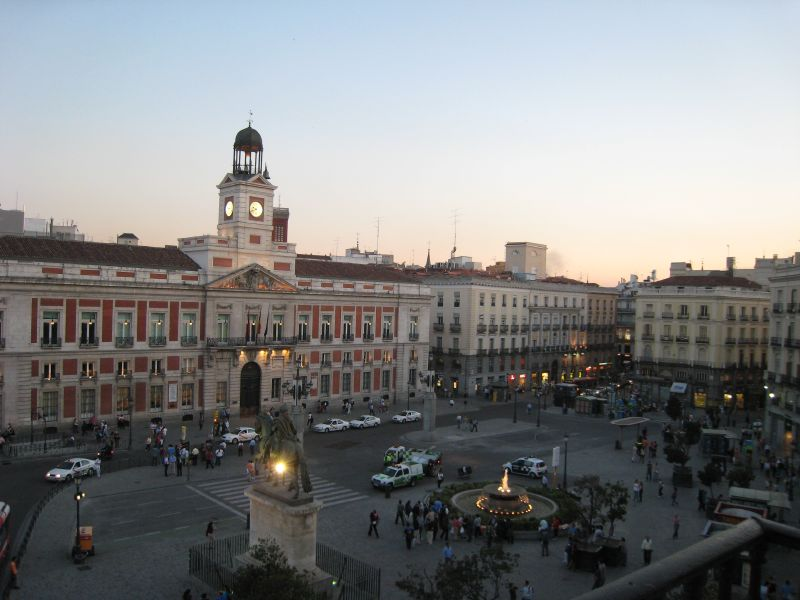 All sizes plaza puerta del sol flickr photo sharing for Puerta del sol madrid fotos