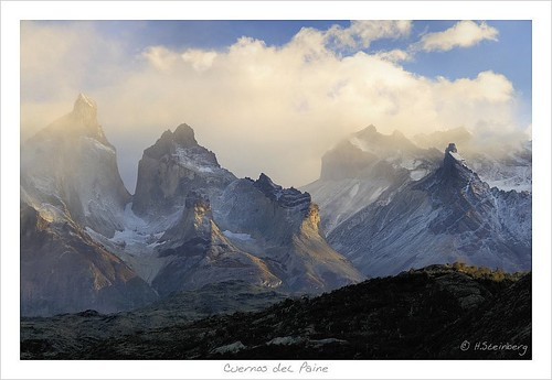 Misty Mountains (Cuernos del Paine) | by HaukeSteinberg.com
