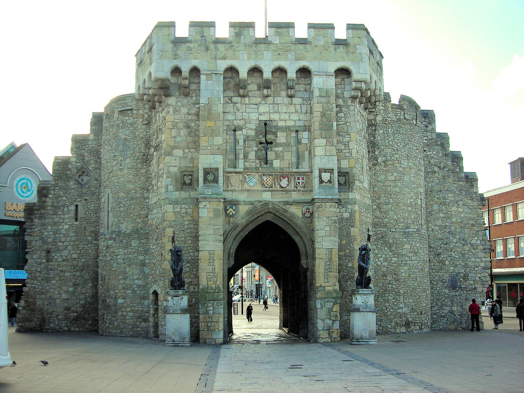 The Bargate Southampton The Main Entrance To The