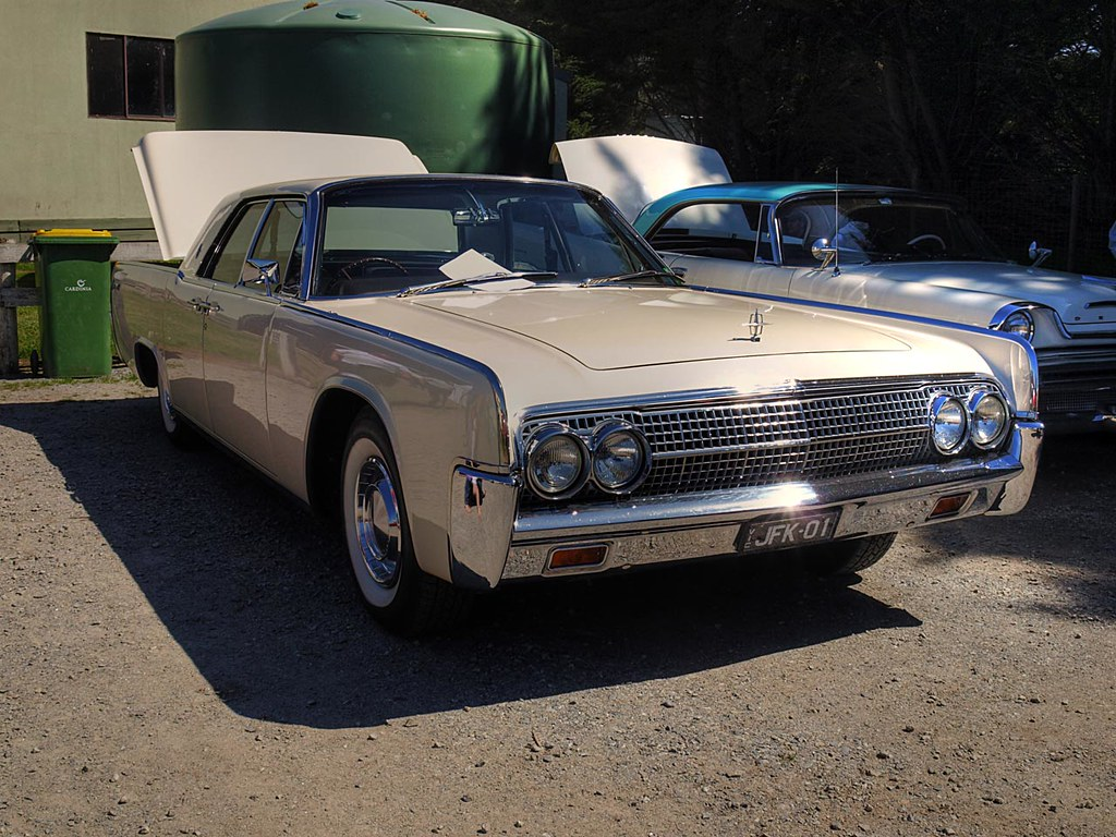 1961 Lincoln Continental A Car Made Famous By An