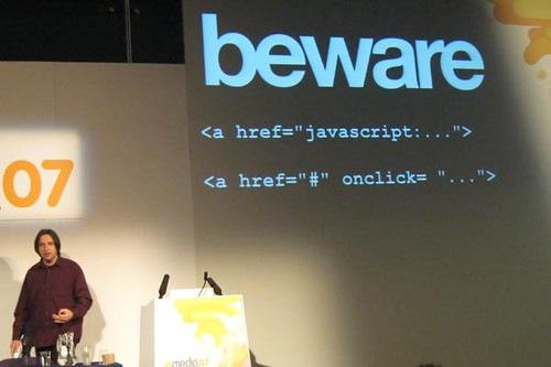 Beware The Evil Javascript | by cazphoto.co.uk