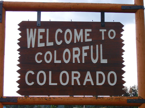 welcome to colorful colorado sign larimer county