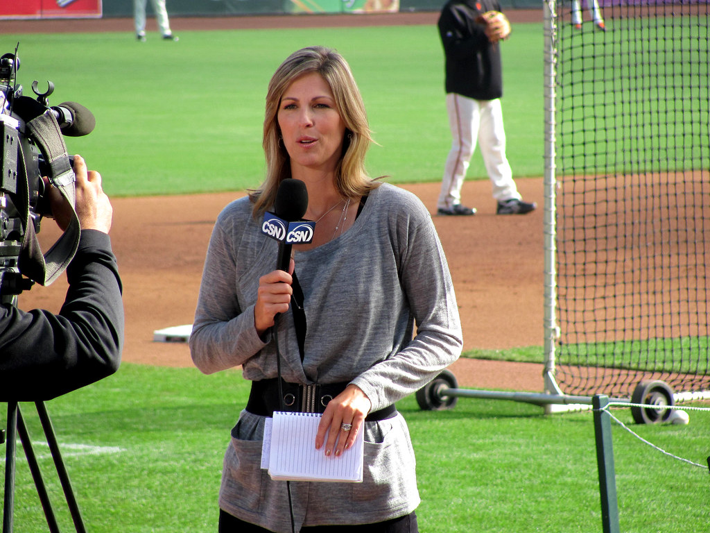 Amy Gutierrez | Comcast. Game #3 NLCS @ AT&T, 2010 | rocor ...
