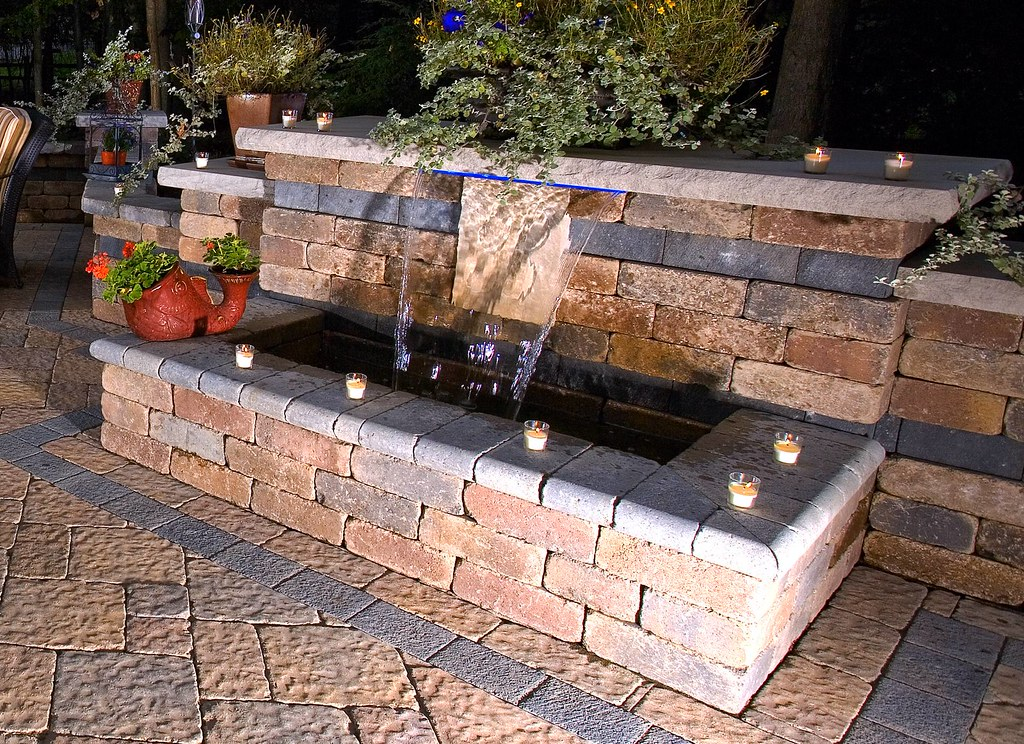 How To Build A Brick Wall Water Feature