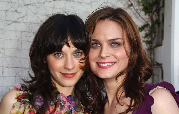 Deschanel Sisters Pictures Bones The Deschanel Sisters 29
