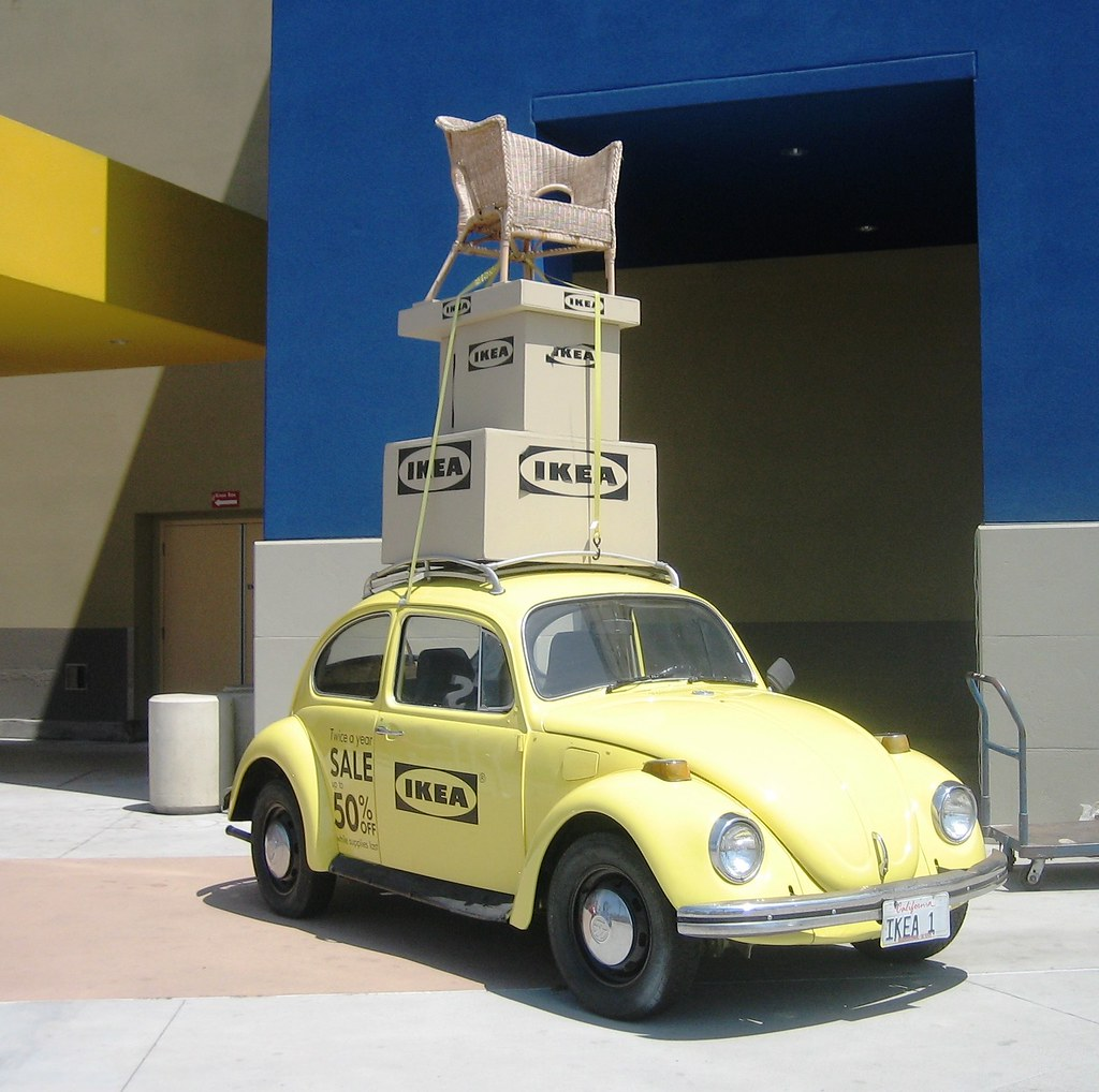 vw beetle ikea san diego ca quite a throne i didn 39 t i flickr. Black Bedroom Furniture Sets. Home Design Ideas