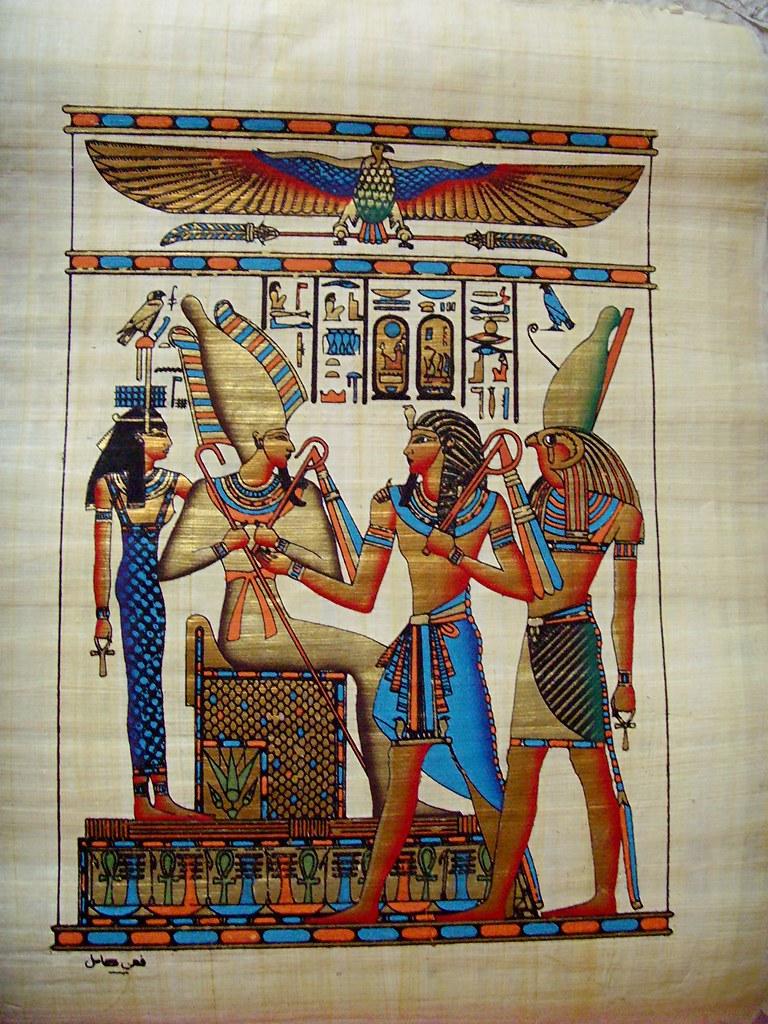 Isis Horus And Osiris