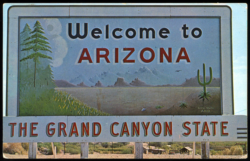 Welcome to Arizona, 1950's | by Roadsidepictures