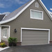 Garage Doors Flushline Stone Grey Finish