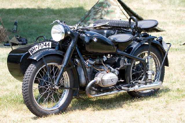 Wwii German Motorcycle Ron Hilton Flickr