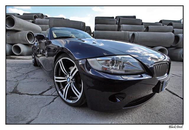 Bmw Z4 Nightblue With M6 Wheels Black Devil Z Flickr