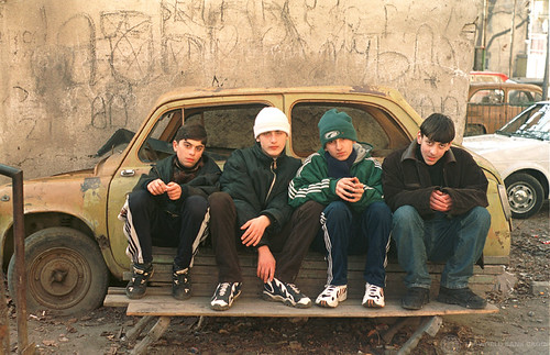 Portrait of neighborhood boys in Tbilisi | by World Bank Photo Collection