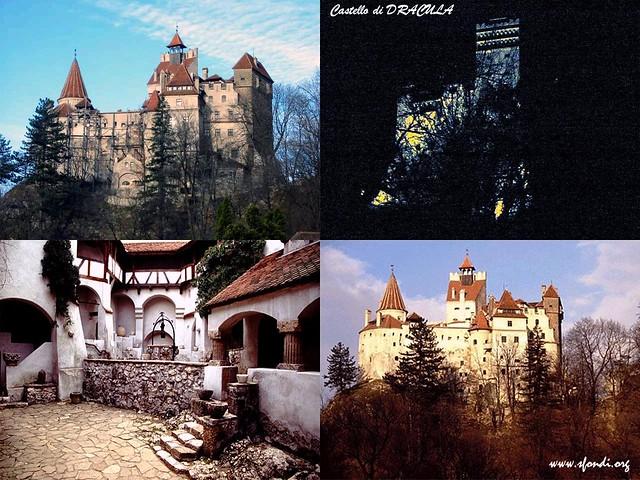 Castello di dracula transilvania romania orchidea 2007 for Disegni casa castello