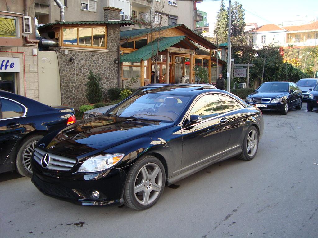 Mercedes Benz Cl55 Amg N Rrug T E Bllokut Tiran Flickr