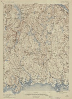 Guilford Sheet 1944 - USGS Topographic 1:62,500 | by uconnlibrariesmagic