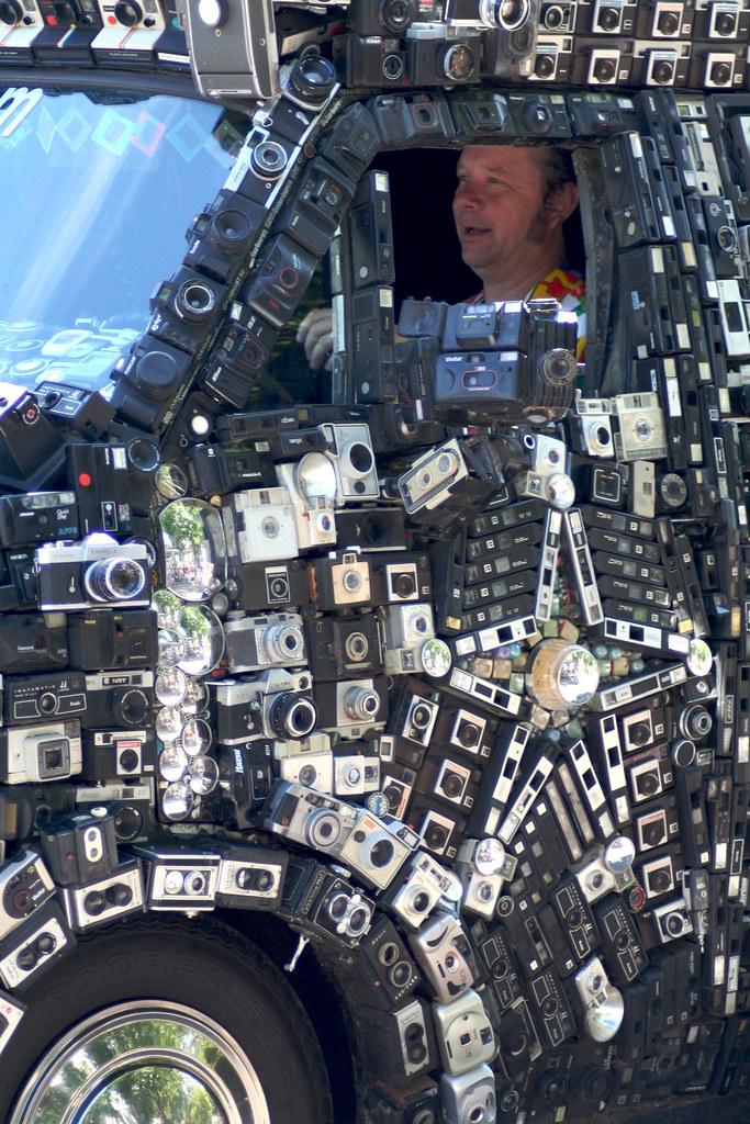 Camera Van @ Art Car Parade | Intermedia Arts + CarSoup ...