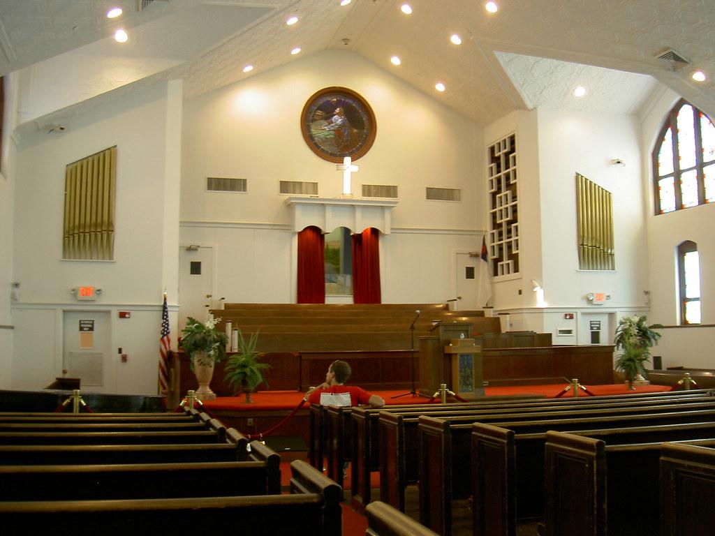 Inside ebenezer baptist church bill rand flickr for Pictures inside