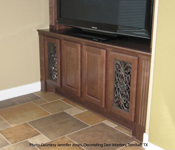 Faux Wrought Iron Cabinet Insert The Cabinet Door