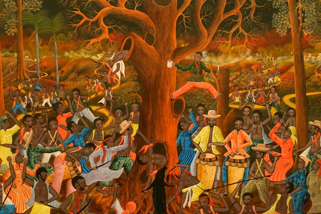 Help For Haiti >> Haitian Painting from the show | To see more Haitian art, vi… | Flickr