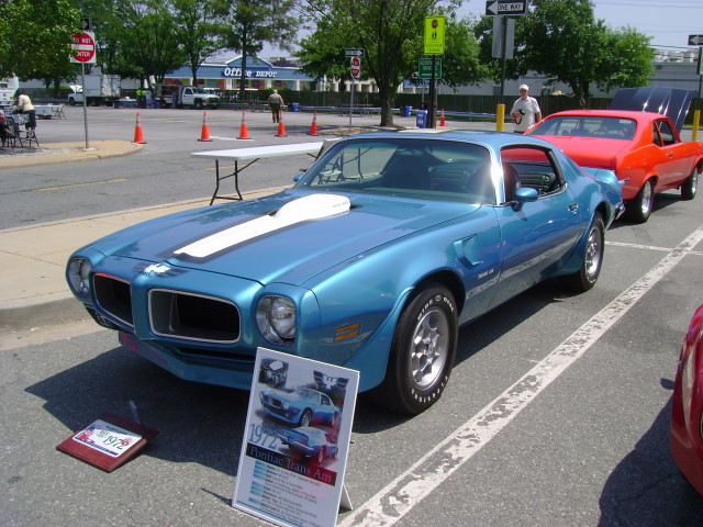 1972 Pontiac Trans Am Maryland Motor Vehicle