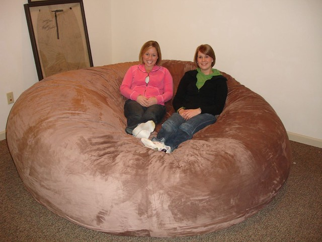Perfect ... Huge Bean Bag Chair LoveSac Love Sac Comfy Sack Fombag | By ComfySacks